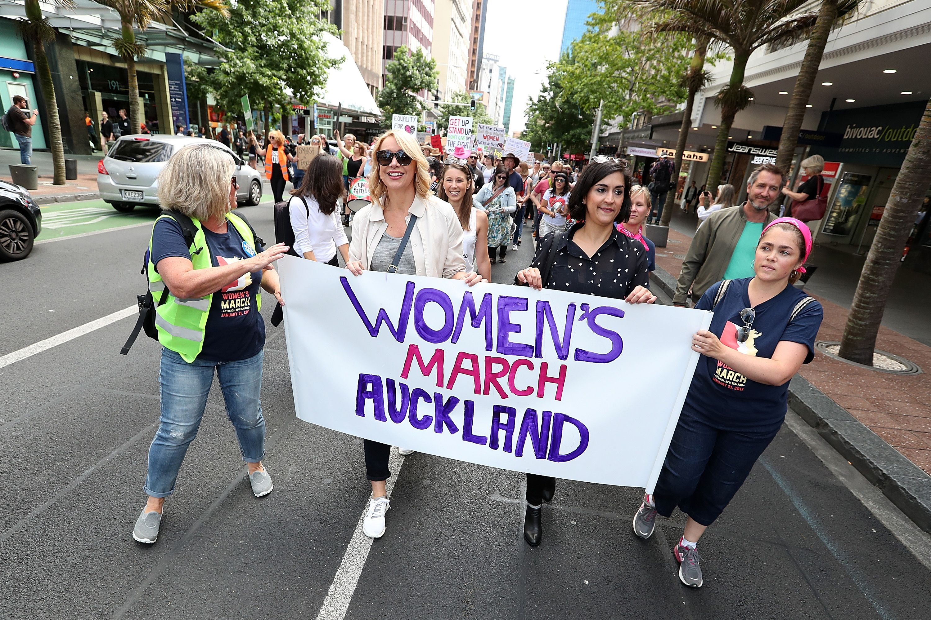 auckland women's march